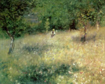 Pierre Auguste Renoir - Spring at Chatou, c.1872-5