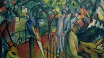 August Macke - Zoological Garden I, 1912