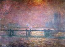 Claude Monet - The Thames at Charing Cross, 1903
