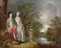 Thomas Gainsborough - Portrait of Heneage Lloyd and his Sister, Lucy, c.1750
