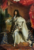 Hyacinthe Rigaud - Louis XIV (1638-1715) in Royal Costume, 1701