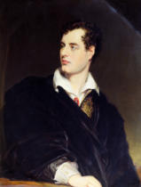 William Essex - Lord Byron after a Portrait painted by Thomas Phillips in 1814 , 1844