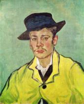 Vincent van Gogh - Portrait of Armand Roulin, 1888