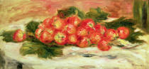 Pierre Auguste Renoir - Strawberries on a White Tablecloth