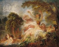 Jean-Honore Fragonard - The Bathers, c.1765