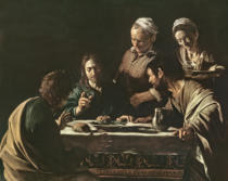 Michelangelo Merisi da Caravaggio - Supper at Emmaus, 1606