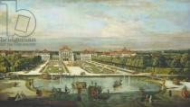 Bernardo Bellotto - Schloss Nymphenburg, 1761