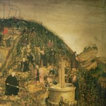 Lucas Cranach der Jüngere - Detail of The Vineyard of the Lord, 1569