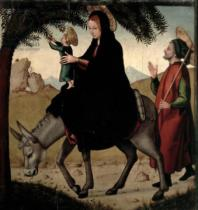 Juan de Borgona - The Flight into Egypt