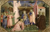 Fra Angelico - Adoration of the Magi, from the predella of the Annunciation Altarpiece, c.1430-32