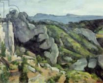 Paul Cézanne - Rocks at L'Estaque, 1879-82