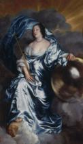 Anthonis van Dyck - Rachel de Ruvigny, Countess of Southampton as `Fortune', c.1638