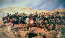 Richard Caton Woodville - Charge of the Light Brigade, Balaclava, 25 October in 1854