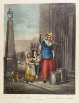 Francis Wheatley - Milk Below Maids, Plate 2 from the 'Cries of London'