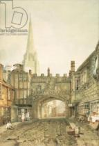 Joseph Mallord William Turner - Gateway to the Close, Salisbury
