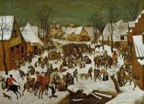 Pieter Brueghel der Ältere - Massacre of the Innocents, 1565-66