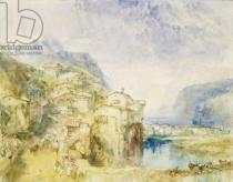 Joseph Mallord William Turner - No.0584 Brunnen, with Lake Lucerne in the distance, c.1842