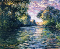 Claude Monet - Morning on the Seine, 1897
