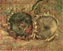 Vincent van Gogh - Two Cut Sunflowers, 1887