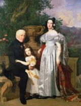 Ferdinand Georg Waldmüller - The Kerzman Family, c.1840