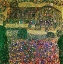 Gustav Klimt - Country House by the Attersee, c.1914