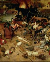 Pieter Brueghel der Ältere - Triumph of Death, detail of the central section, 1562