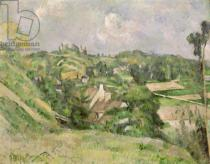 Paul Cézanne - Auvers-sur-Oise, seen from the Val Harme, 1879-82