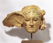 Römisch - Head of Hypnos, or Sleep, 1st-2nd century AD copy of a Hellenistic original, found at Civitella d'Arno, Italy