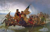 Emanuel Gottlieb Leutze - Washington Crossing the Delaware River, 25th December 1776, 1851  (copy of an original painted in 1848)
