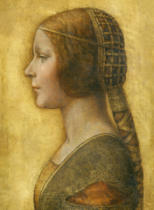 Leonardo da Vinci - Profile of a Young Fiancee