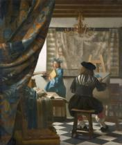 Jan Vermeer van Delft - The Artist's Studio, c.1665-66