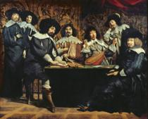 Mathieu Le Nain - The Academy, or The Amateurs' Meeting, c.1640
