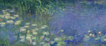 Claude Monet - Waterlilies: Morning, 1914-18
