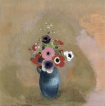 Odilon Redon - Bouquet of anemones