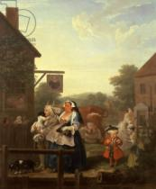 William Hogarth - Evening