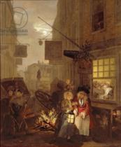 William Hogarth - Night