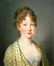 Joseph Kreutzinger - Archduchess Leopoldina of Austria, 1st wife of Emperor Dom Pedro IV of Portugal