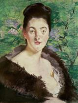 Edouard Manet - Woman in a fur coat