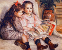 Pierre Auguste Renoir - Portraits of children, or The Children of Martial Caillebotte, 1895