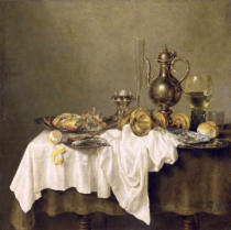 Gerrit Willemsz. Heda - Breakfast with a Crab, 1648