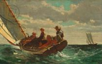 Winslow Homer - Breezing Up  1873-76