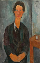 Amedeo Modigliani - Chaim Soutine, 1917