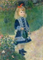 Pierre Auguste Renoir - A Girl with a Watering Can, 1876