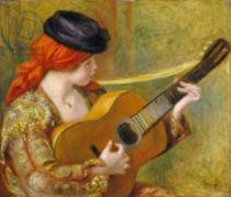 Pierre Auguste Renoir - Young Spanish Woman with a Guitar, 1898