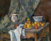 Paul Cézanne - Still Life with Apples and Peaches, c.1905