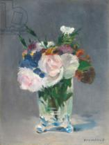 Edouard Manet - Flowers in a Crystal Vase, c.1882