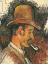 Paul Cézanne - Man with Pipe, 1892-96