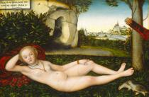 Lucas Cranach - The Nymph of the Spring, after 1537