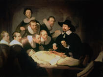 Harmensz van Rijn Rembrandt - The Anatomy Lesson of Dr. Nicolaes Tulp, 1632