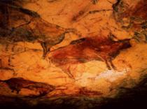 Unbekannt - Rock painting of bison, c.15000 BC